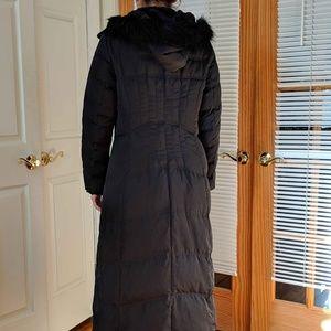 Jones New York Jackets & Coats - Jones New York Down Blend Quilted Maxi Coat